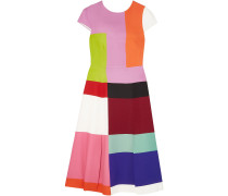 Woman Osmond Color-block Satin Midi Dress Multicolor