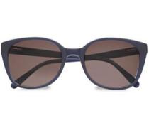 D-frame Acetate Sunglasses Midnight Blue Size --