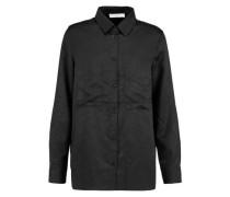 Narker printed crepe de chine shirt