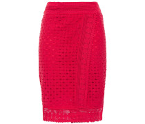 Cold Crocheted Cotton Wrap Skirt