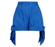 Ruched Shell Shorts Ultramarin