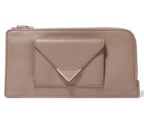 Prisma Leather Wallet Taupe