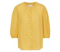 Emberly Gerafftes Hemd aus Baumwolle