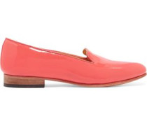 Dandy patent-leather slippers