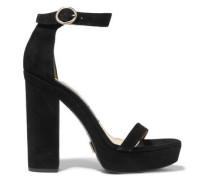 Adelina suede platform sandals