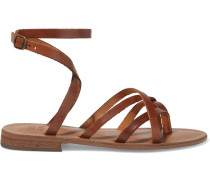 Marguerite Leather Sandals