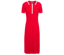 Ribbed Merino Wool-blend Dress