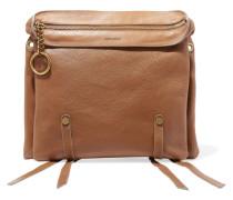 Leather Tote Braun