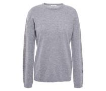 Gestreifter Pullover aus Einer Kaschmirmischung mit Metallic-effekt