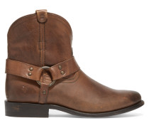 Wyatt Leather Ankle Boots Braun