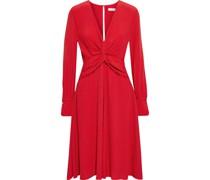 Faun Kleid aus Crêpe mit Twist-detail An Der Vorderseite