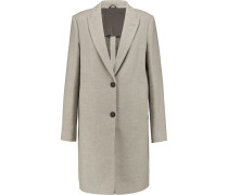 Wool And Cashmere-blend Coat Hellgrau