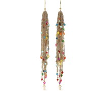 Arsella Gold-tone Beaded Earrings