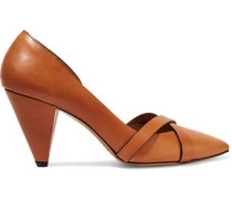 Pey leather pumps