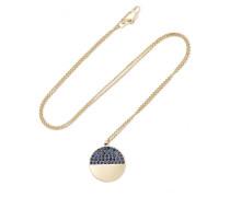 Horizon 18-karat  Sapphire Necklace