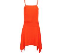 Remède Cutout Crepe Dress Orange