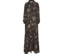 Printed Silk-crepe Gown Mehrfarbig