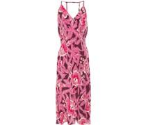 Allianna Kleid aus Vorgewaschener Seide mit Floralem Print