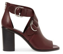 Kora cutout leather sandals