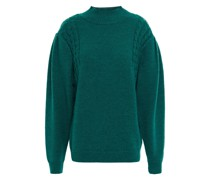 Elva Cable-knit Wool Sweater