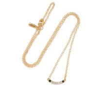 Klint Gold-tone Crystal Necklace