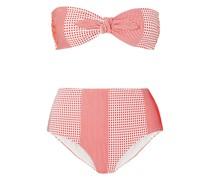 Semira Bandeau-bikini-oberteil aus Stretch-jacquard