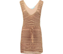 Tiffany crocheted mini dress
