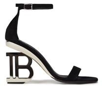 Naomi Embellished Suede Sandals