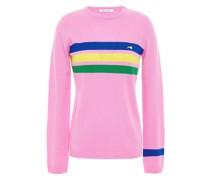 Striped Cashmere-blend Sweater