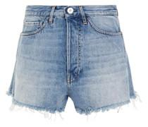Chelsea Jeansshorts in Distressed-optik