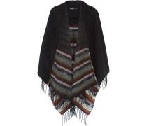Jacquard-knit Wrap Mehrfarbig