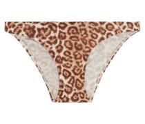 Alchemy Low-rise Leopard-print Bikini Briefs Leoparden-Print