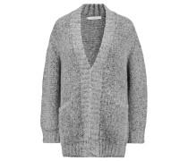 Sidora Knitted Cardigan Hellgrau