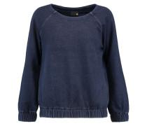 Cotton-jersey Sweatshirt Rauchblau