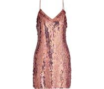 Contessa Sequined Chiffon Mini Dress
