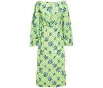 Ivey Fil Coupé Floral-print Cotton-blend Midi Dress