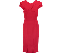 Linte Crepe Dress Rot