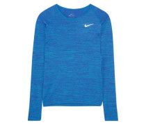 Perforated Dri-FIT stretch-jersey top