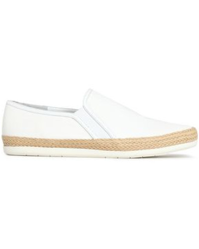Acker Canvas Slip-on Sneakers White