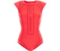 Perforated Neoprene Swimsuit