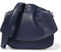 Ridge micro leather shoulder bag