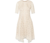 Guipure Lace And Organza Dress Elfenbein
