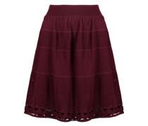 Pointelle-knit skirt