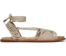 Cruis Braided Raffia Sandals