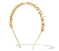 Contrasti Gold-tone Faux Pearl Headband