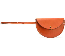 Hugo Whipstitched Leather Belt Bag