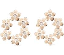 18-karat -plated Crystal Earrings