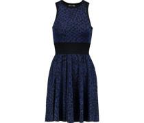 Nicki jacquard-knit mini dress