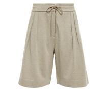 Organic Cotton-blend Shorts