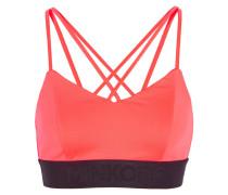 Damaris Neon Stretch-jersey Sports Bra Pink